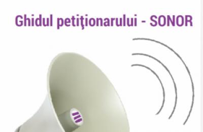 Ghidul petiționarului – accesibil în versiunea sonoră