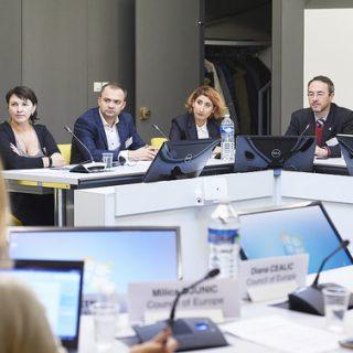 Reprezentanții Consiliului au efectuat o vizită de studiu la Strasbourg