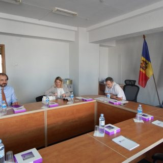 The Official Meeting of the World Bank and UNDP Representatives with Council Member Andrei Brighidin