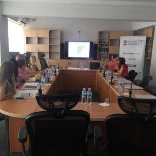 Тренинг на тему домогательства на рабочем месте для представителей МВД и ГИП