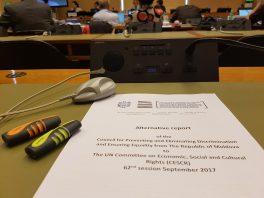 Comitetul ONU pentru drepturi economice, sociale și culturale recomandă Moldovei să ia măsuri necesare ca reprezentanții grupurilor vulnerabile să poată să-și realizeze drepturile în mod efectiv
