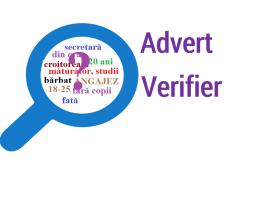 """CPEDAE şi IRP anunţă concurs de selectare a unui specialist pentru dezvoltarea aplicației """"AdvertVerifier"""""""
