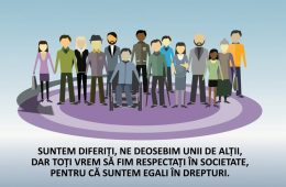 """Spot TV """"Împreună împotriva discriminării"""""""