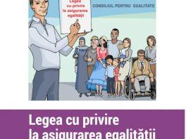 Legea cu privire la asigurarea egalității – în versiune nouă, pe înțelesul tuturor