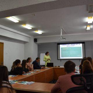 Studenți în vizită la Consiliu pentru prevenirea și eliminarea discriminării și asigurarea egalității