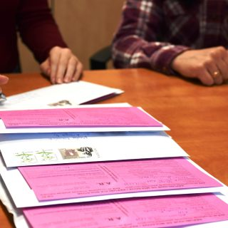 Support Services of Post Office of Moldova Free of Charge for Persons with Visual Impairments