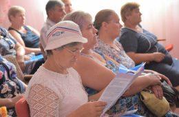 В сельской местности прошли семинары о «Юридической защите пожилых людей от дискриминации»