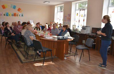 Activități de instruire pentru persoanele în etate din mediul rural