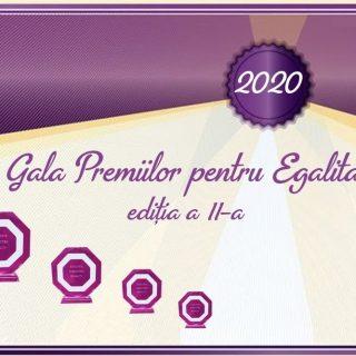 Start nominalizărilor concursului Gala Premiilor pentru Egalitate