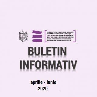 BULETIN INFORMATIV aprilie – iunie 2020